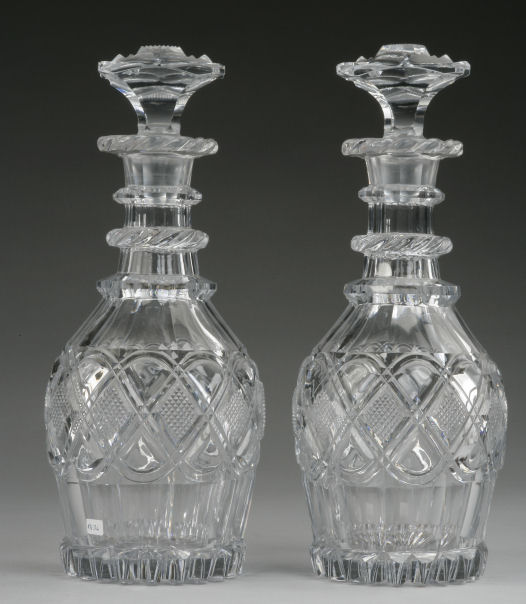 DECANTERS : 18th Century Glass, The Worlds Leading