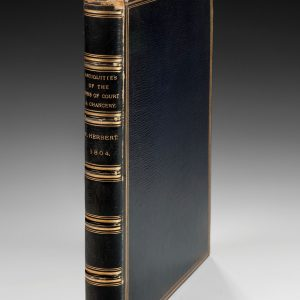 ANTIQUITIES OF THE INNS OF COURT AND CHANCERY BY WILLIAM HERBERT