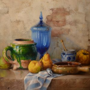 robert-chailloux-oil-painting-blue-vase-still-life-