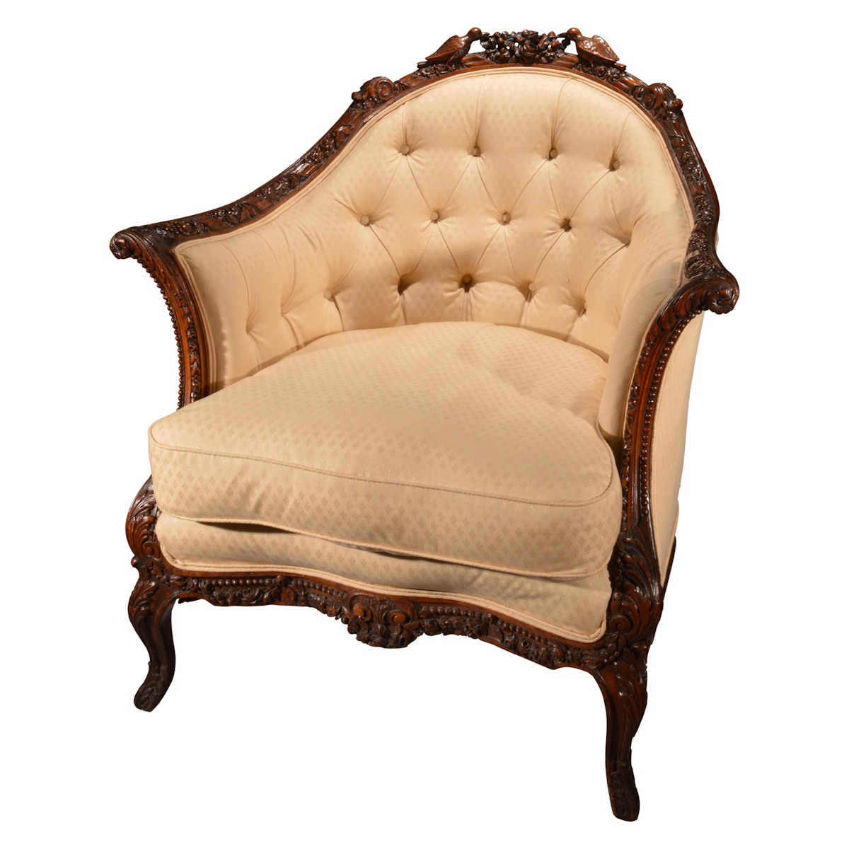 Antique bergere chair - Antique Bergere Chair