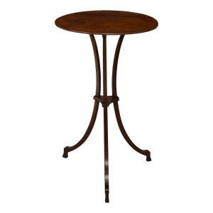 RARE ANTIQUE SHERATON MAHOGANY LAMP TABLE