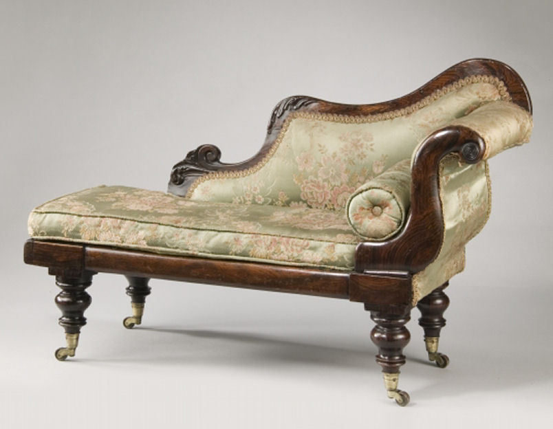 19th century miniature simulated rosewood chaise longue for Chaise longue solde