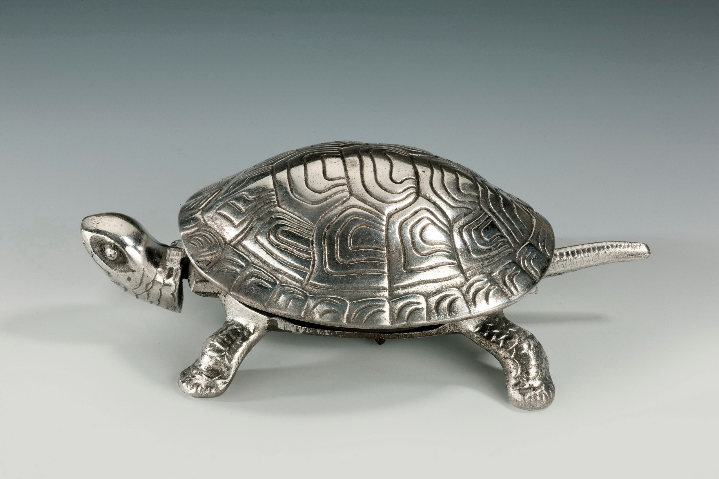 Antique silver plated tortoise table bell richard gardner antiques antique silver plated tortoise table bell solutioingenieria Choice Image