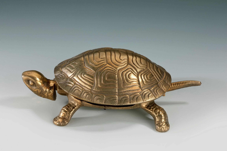 Gilded tortoise table bell antique gilded tortoise table bell solutioingenieria Choice Image