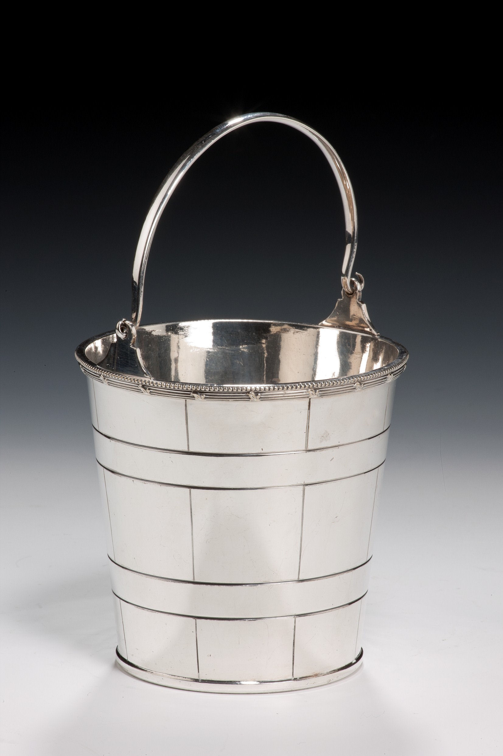 how to clean silver ice bucket