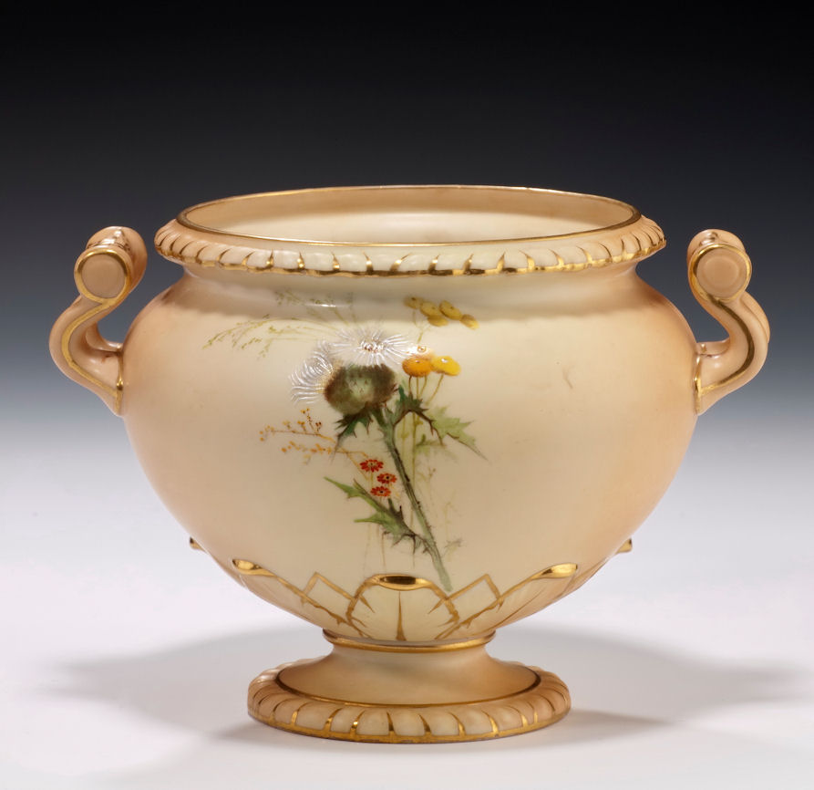 Antique royal worcester jardiniere richard gardner antiques for Jardiniere decorative