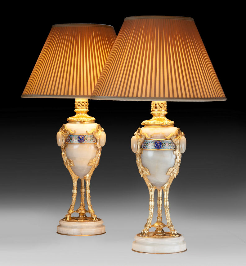Pair of french table lamps richard gardner antiques pair of french table lamps aloadofball Images