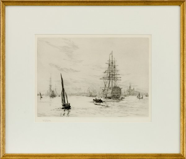 william-wyllie-etching-victory-portsmouth-harbour-5107_1_5107