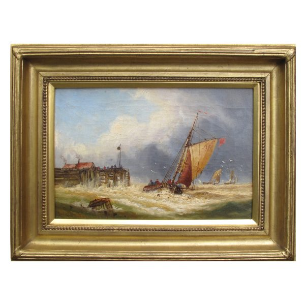 Charles-de-lacey-coastal- painting-Margate-