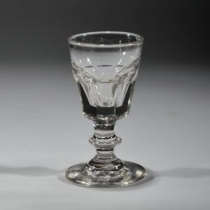 SMALL ANTIQUE DRINKING GLASS