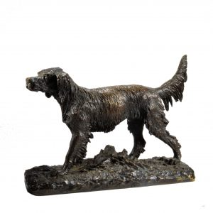 CHRISTOPHE FRATIN-BRONZE-IRISH SETTER