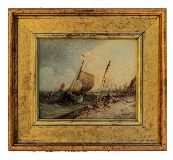 william-edward-webb-oil-painting-castletown-isle-of-man-for-sale-DSC_9703