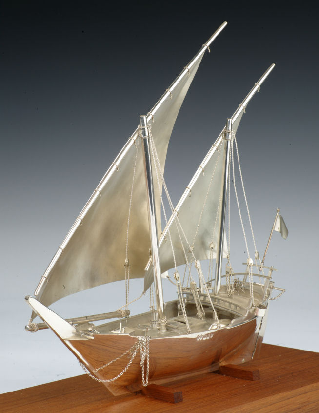 Fishing Boat Models -Arab Derow Circa 1920