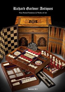 ANTIQUE GAMES BOX AT RICHARD GARDNER ANTIQUES