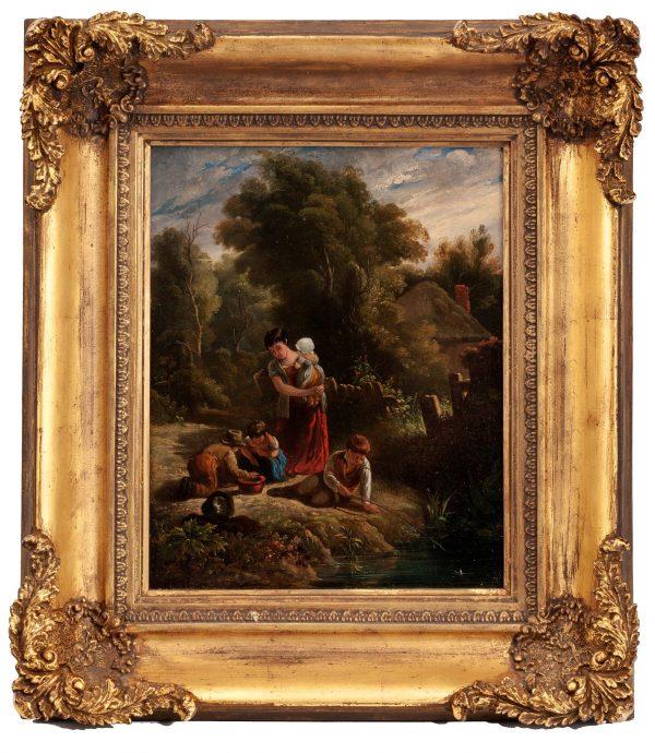 19th-century-English-school-oil-painting-children-antique-5304_1_5304