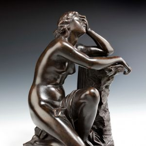 AIME MILLET ANTIQUE BRONZE ARIADNE