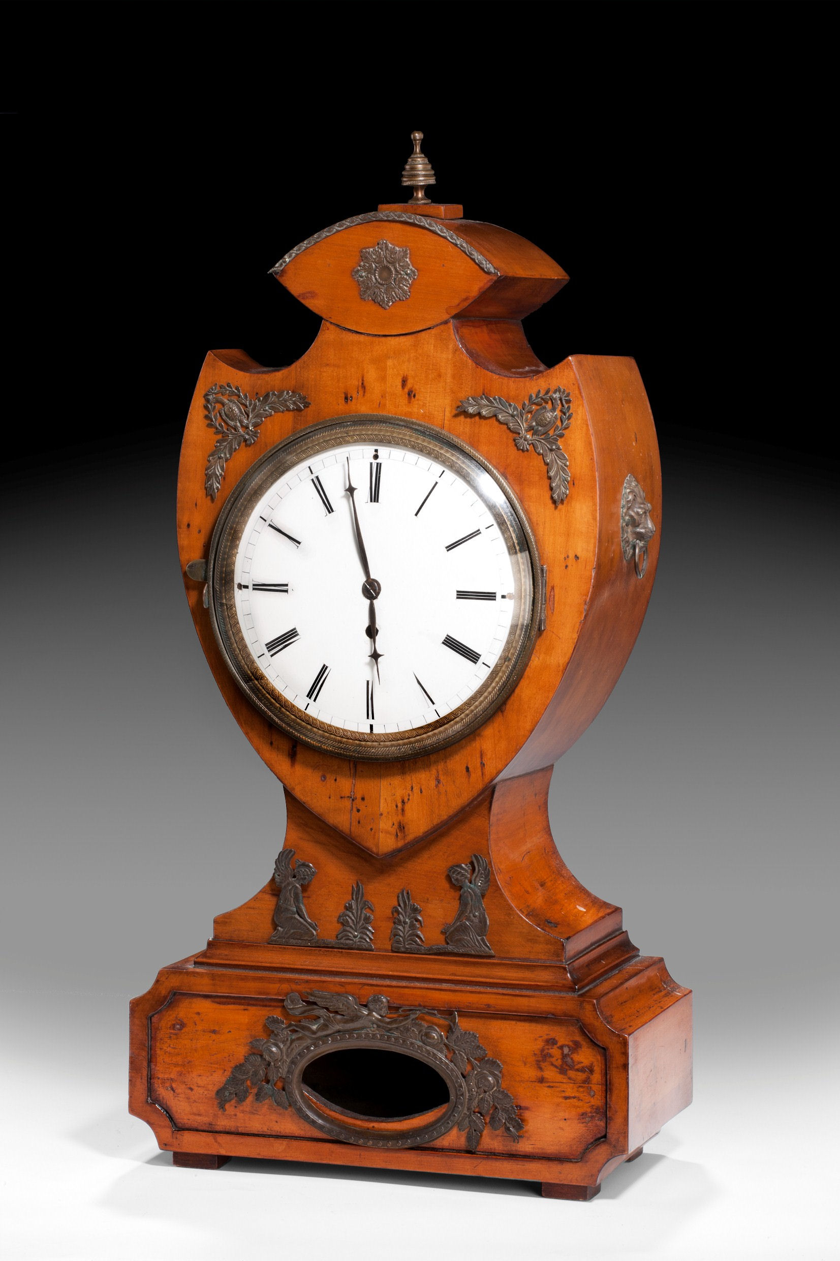 ANTIQUE BIEDERMEYER PERIOD CLOCK