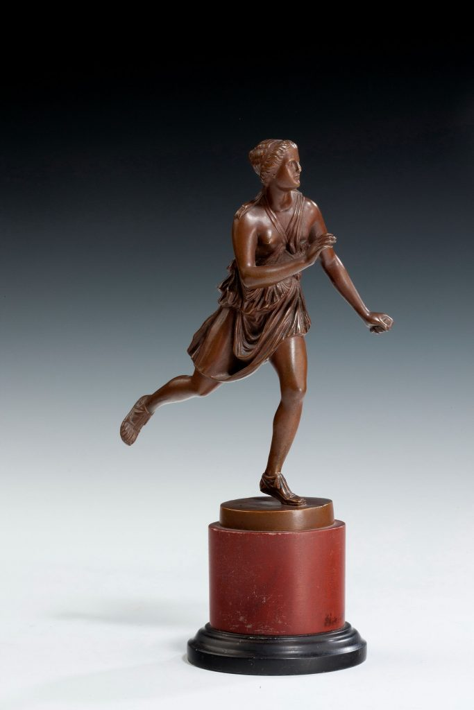 Grand Tour Of Europe S Greatest: ANTIQUE GRAND TOUR BRONZE OF FEMALE ATHLETE