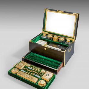 A VICTORIAN LADYS DRESSING CASE BY WEST