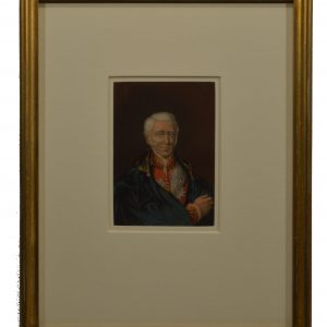 BAXTER PRINT OF THE LATE DUKE OF WELLINGTON