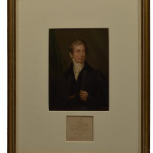 BAXTER PRINT OF SIR ROBERT PEEL