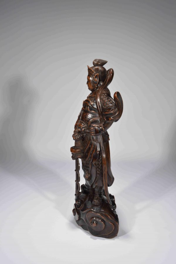 antique-carved-wooden-figure-wei-tuo