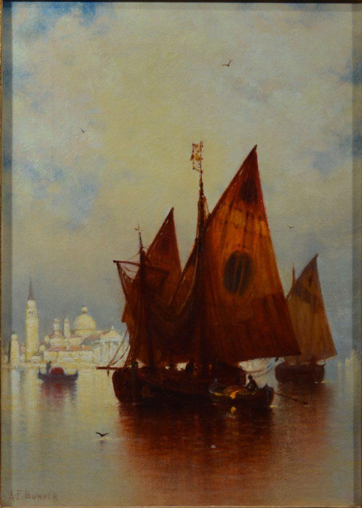 Andrew Fisher Bunner Oil Painting Venice