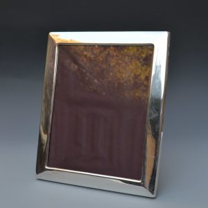 ANTIQUE SILVER PLATED PHOTOGRAPH FRAME