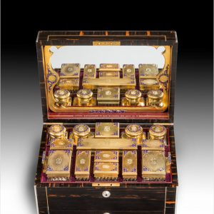 A RARE VICTORIAN DRESSING CASE BY ASPREYS
