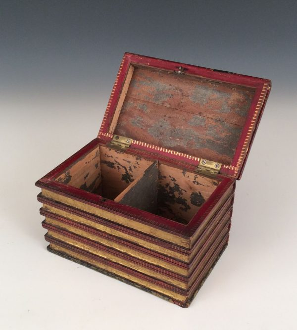 tea-caddy-form-of-books-red-leather-antique-secret-5551_1