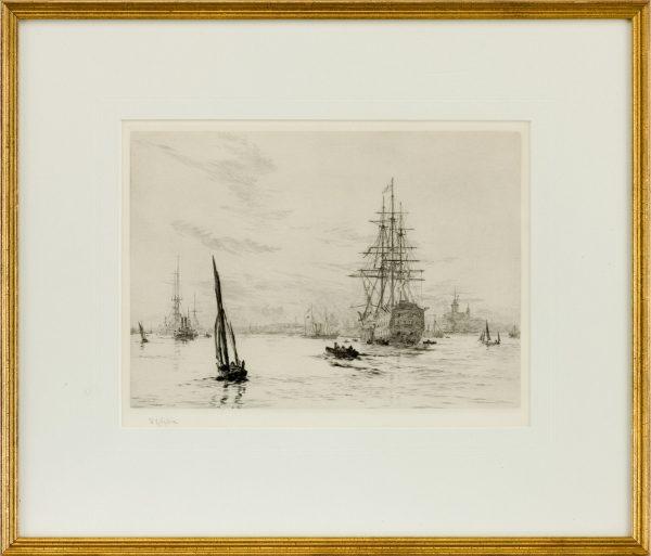 william-wyllie-etching-victory-portsmouth-harbour-5107_1_5107