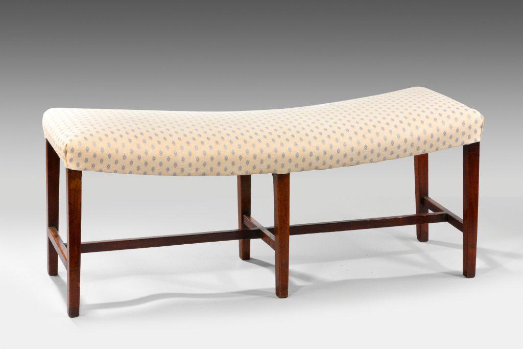 Phenomenal Antique Georgian Mahogany Window Seat Machost Co Dining Chair Design Ideas Machostcouk