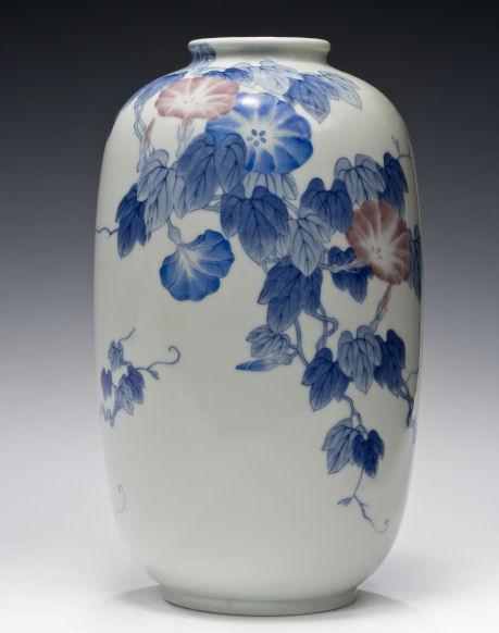 Large Japanese Porcelain Vase By Genroku Richard Gardner Antiques