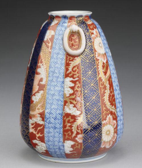 Japanese Fukagawa Imari Vase Richard Gardner Antiques