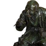 japanese-bronze-man-udagawa-kazuo-meiji-antique
