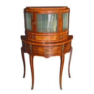 LATE 19TH CENTURY FRENCH DISPLAY SIDE CABINET