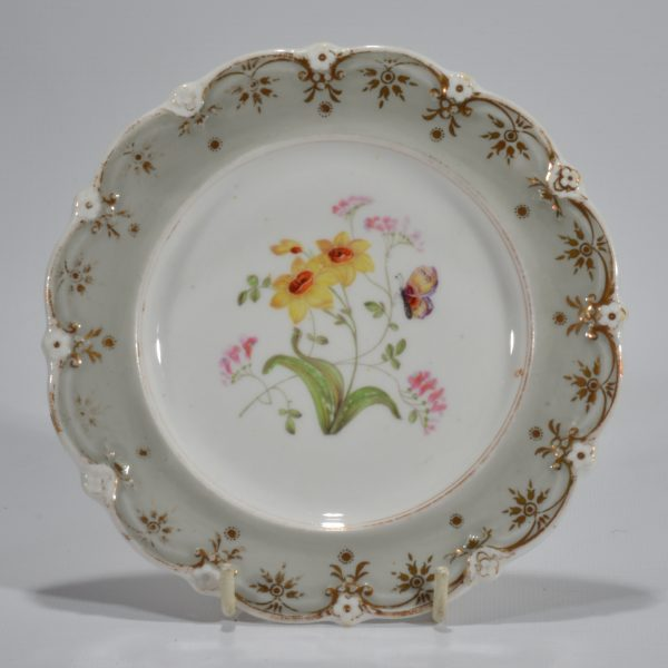 antique-plates-painted-butterflies-flowers-staffordshire-19th-century-DSC_9194