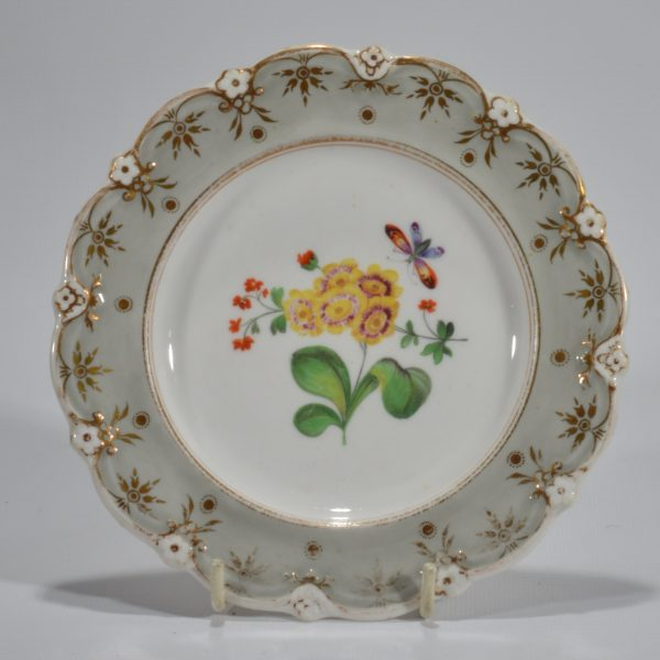 antique-plates-painted-butterflies-flowers-staffordshire-19th-century-DSC_9195