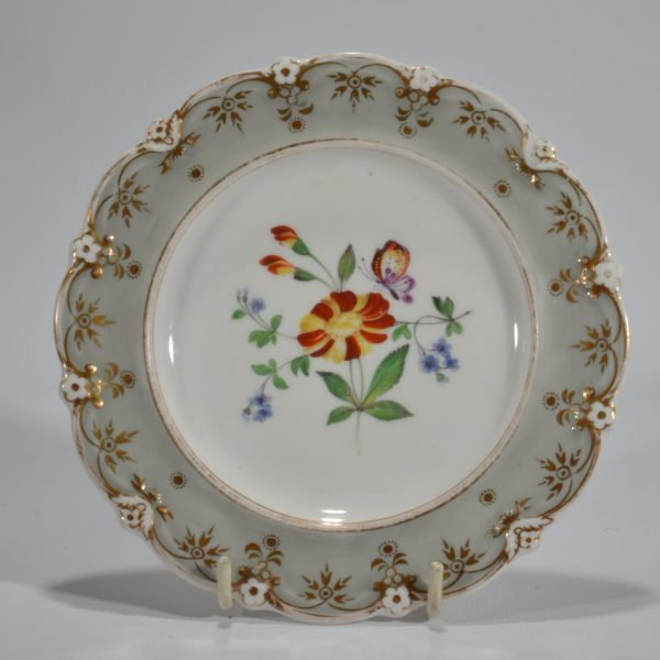 antique-plates-painted-butterflies-flowers-staffordshire-19th-century-DSC_9196