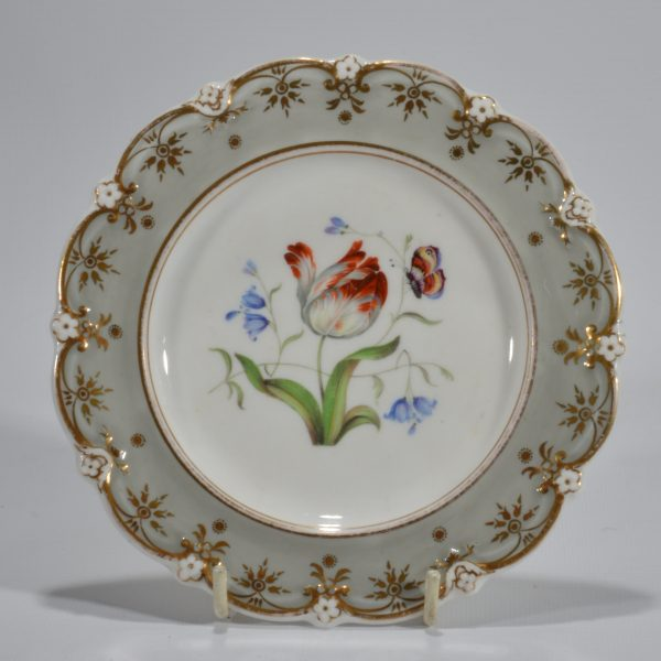 antique-plates-painted-butterflies-flowers-staffordshire-19th-century-DSC_9198