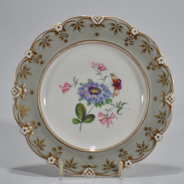 antique-plates-painted-butterflies-flowers-staffordshire-19th-century-DSC_9200