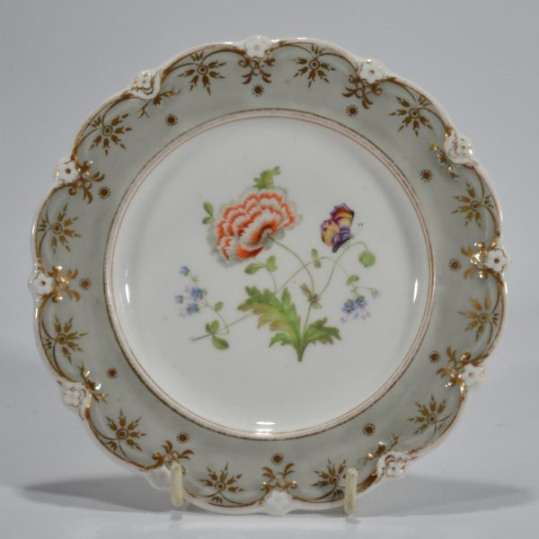 antique-plates-painted-butterflies-flowers-staffordshire-19th-century-DSC_9201