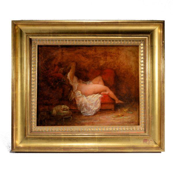henri-charles-antoine-baron-oil-painting-female-nude-antique-DSC_9322