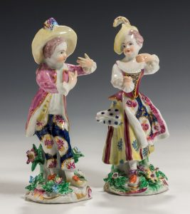 FIND ANTIQUE BOW PORCELAIN AT RICHARD GARDNER ANTIQUES