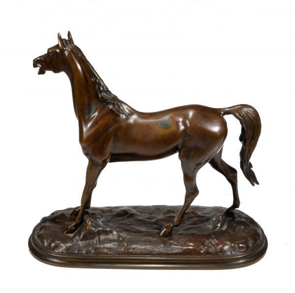 jules-moigniez-antique-bronze-horse-signed-for-sale-DSC_9777