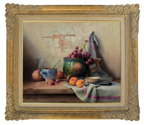 robert-chailloux-oil-painting-for-sale-still-life-grapes-peaches-DSC_9710