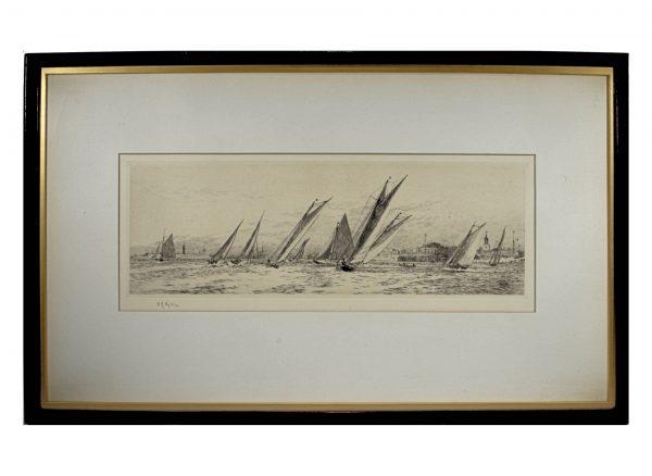 william-wyllie-etching-royal-albert-yacht-club-southsea-DSC_9762