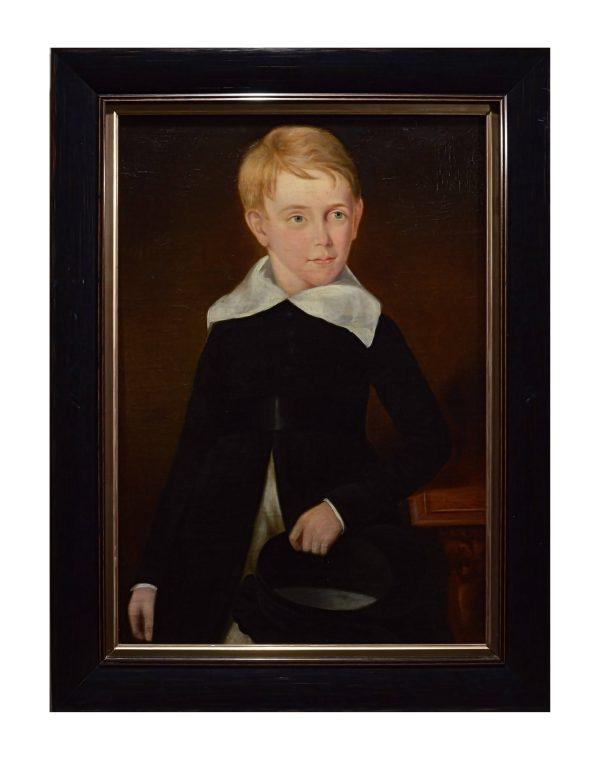 portrait-paintings-young-children-antique-DSC_9847C