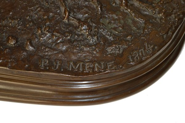 pierre-jules-mene-bronze-Veneur-Louis-XV-á-Cheval-DSC_0086