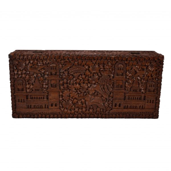 antique-anglo-indian-carved-wooden-box-tiger-elephant-palaces-birds-DSC_0510a